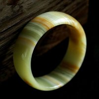 58-60mm Edle Schöne Afghanistan Jade Armreif China Handgeschnitzte Jade Armband