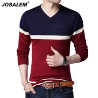 JOSALEM 2018 Autumn Winter Men' s Sweater Cloth Fashion ...