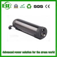 Hiçbir vergi 850 W 48 v 14ah elektrikli bisiklet lityum pil bafang bbs02 siyah su şişesi ebike li-ion pil Için SAM-SUNG hücreleri