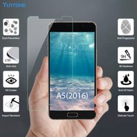 9H Film Glass For Samsung Galaxy A5 A3 A7 2016 2017 Full Cov...