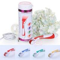 540 Agulhas Photon Micro rolos de agulhas Dispositivo Cuidados LED Photon Derma rolo estiramento remoção da marca de pele