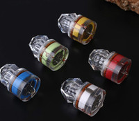 LED Submarina Deep Drop diamante Pesca Flashing Light Bait Lure Squid Strobe Popular Deep Sea Lamp Peixe
