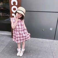2018 Summer Little Girls Dresses Fly Sleeve Baby Clothes Pri...