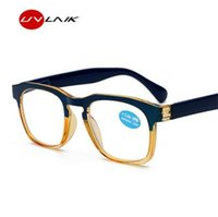 UVLAIK 빈티지 독서 안경 여성 남성 레트로 옵티컬 처방 안경 경량 늙은 독서 안경 1.0 3.5