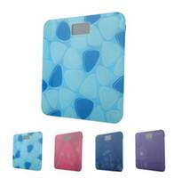 Weiheng vidro temperado backlight display lcd digital gordura corporal banheiro escala de peso