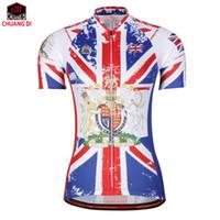 84bc531254 UK mulheres verão ao ar livre ciclismo camisa de bicicleta clothing mtb  mountain road bicicleta quick dry tops respirável camisa de manga curta