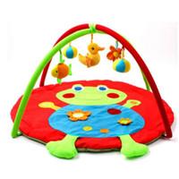 95 cm Cartoon Baby Play Mat Kids Alfombra Floor Boy Girl Alfombra Juego Mat Estera de Actividad para Niños Juguetes Educativos Para Niños