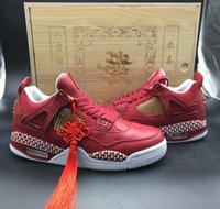 AAAAA New Arrival Mens Retros 4 930155- 609 Basketball Shoes,...