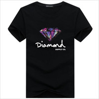 Fashion t shirt diamond co men women clothe 2018 Casual shor...