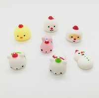 Kawaii Cute Soft Animal Squeeze Dumpling Stretchy Fun Kids T...