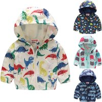 Dinosaur Baby Boys Hooded Jackets Children Coats Boy Hoodies...