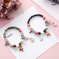 4Pcs Set Europe America Vintage Fashion Multilayer Beads Hop...