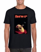 Friday the 13th horror moviet- shirt free delivery 100% cotto...