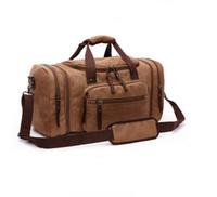 Duffle bag travel bags hand luggage luxury shoulder strap travel bag men  canvas handbags large cross body bag sac totes for boys mens 9ba2f9f0da136