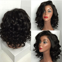 Cheap Fashion Short Loose Wave Bob Wig Heat Resistant Short ...