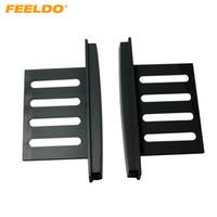 FEELDO 2DIN Car Audio Refitting DVD Frame Panel Fascia per Nissan LIVINA / Sunny (N17) Almera / Versa / Renault Scala / Latio # 1479
