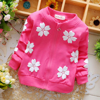 New baby clothing spring girls Kids brand cotton coats for c...