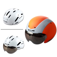 GUB Time Trail Casco da ciclismo Track Cycling Road Intercambiabile Ciclismo MTB Mountain Road Casco da bicicletta con visore UV