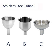 24pcs mini Stainless Steel funnel Hopper Kitchen cozinha coo...