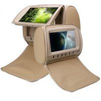 2x 9inch auto dvd for car dvd beige headrest video with USB ...