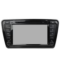 GPS를 가진 Skoda OCTAVIA 8inch 4GB 렘 8 중핵 Andriod 8.0를위한 차 DVD 플레이어, 핸들 통제, 블루투스, 라디오