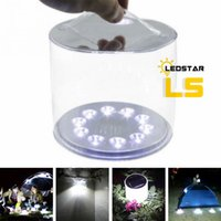 Inflatable Solar Light Rechargeable Waterproof Solar LED Lan...