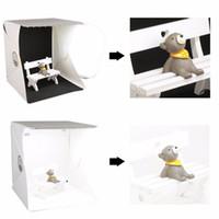 Mini-Fotostudio-Box Fotografie-Hintergrund Integrierte tragbare Softbox Kleine Gegenstände Fotografie-Hintergründe Box Faltbares Beleuchtungszelt-Set