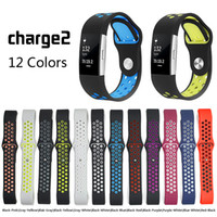 sport watch band Strap for fitbit charge 2 band Silicone str...