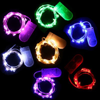 20 LED String Licht wasserdicht 2M bunte Silberdraht LED Fairy Light Weihnachten Hochzeit Party Decor LED Streifen Batterie