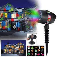 New Christmas Decoration Light LED Rotation Projector Light ...