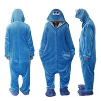 Adult Unisex Animal Sleepsuit Kigurumi Cosplay Costume Pajam...