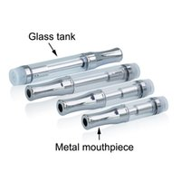 92A3 Pyrex glass cartridge cartridge CE3 atomizer vaporizer pen cartridges dual coil A3 for thick oil fit 510 battery