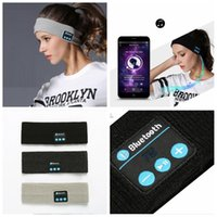 3styles Bluetooth Knitting Music Headband Caps Wireless Blue...