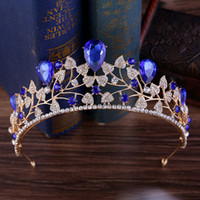 Bridal Crowns For Brides Vintage Wedding Diamante Pageant Ti...