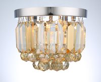 Европейский Хрустальный светильник простой современный потолочный светильник творческий крыльцо лампы балкон проход огни зал свет