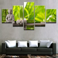 Canvas Prints Posters Living Room Wall Art Framework 5 Piece...