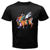 New SAINT SEIYA Pegasus Retro Anime Cartoon Men' s Black...