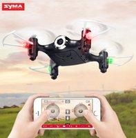 Original SYMA X21- W Mini Pocket Drone with WiFi HD Camera FP...