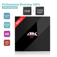 S912 Android TV Box 3GB 32GB H96 Pro android 7.1 tv box поддержка 4K Ultra HD бесплатно фильмы потоковое AC-dual WIFI BT4.1 kd box logo