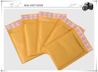 Más reciente 3.9 * 7.8 pulgadas 100 * 200 mm + 40 mm Kraft Bubble Mayers Sobres envolventes bolsas Acolchada Envelope Mail Embalaje Bolsa de embalaje Envío gratis