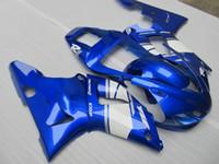 7gifts Fairing kit forYAMAHA YZF R1 1998 1999 white blue fairings set YZF R1 98 99 DS25