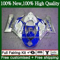 Body For MV Agusta F4 05 06 R312 750S 1000 R 750 1000CC 13MF13 1000R Blue silvery 312 1078 1+1 MA MV F4 2005 2006 05 06 Fairing Bodywork