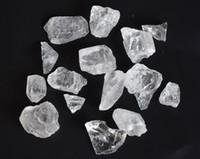 200 g en vrac naturel de pierres rugueuses, de cristaux de roche, de guérison de pierres gemmes brutes avec une poche gratuite
