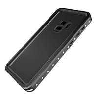 Custodia impermeabile Redpepper For Galaxy S9 Plus IP68 Protezione antincendio impermeabile Dirty neve per Samsung Galaxy S9 Dot Series Cases