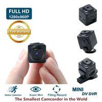 Mini cámara S5 Micro DV videocámara Full HD 960P Cámara de acción Digital Deporte DV DV Inalámbrico Mini Voice Voice Recorder Soporte Detección de movimiento