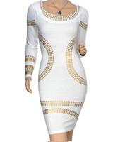 6f1264bf8034 All ingrosso-2015 New Fashion Bandage Dress Women Celebrity Autunno Inverno  manica lunga Sexy