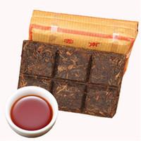 Promotion Yunnan Petite Place 50 g Brique Ripe Pu er thé brique biologique naturel noir Thé Pu'er Vieil Arbre cuit Puer thé