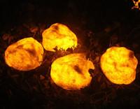 Iluminación creativa lámpara de piedra patio al aire libre energía solar jardín paisaje lámpara de jardín lámpara LED impermeable LLFA