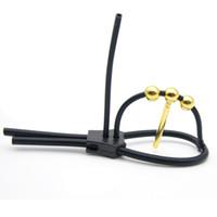 E-Stim Elektroschock Sexspielzeug Kit Einstellbare Electrostimulation Cock Peins Ring Elektro Sex Spielzeug Für Männer