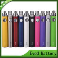 EVOD Bateria 650mAh 900mAh 1100mAh Baterias Ego E Cigarros Para MT3 CE4 Mini Protank Atomizador Vs Visão Spinner Brass Knuckles Bateria